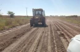 Progresan las obras en los caminos rurales