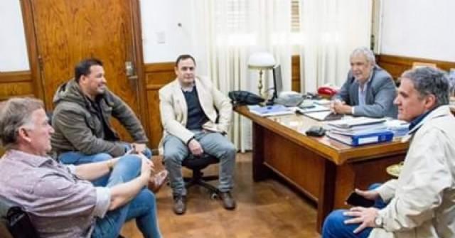 Reunión del intendente con autoridades policiales