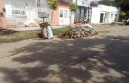 Situación que se replica en varios barrios.