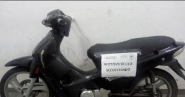 Varias motos secuestradas