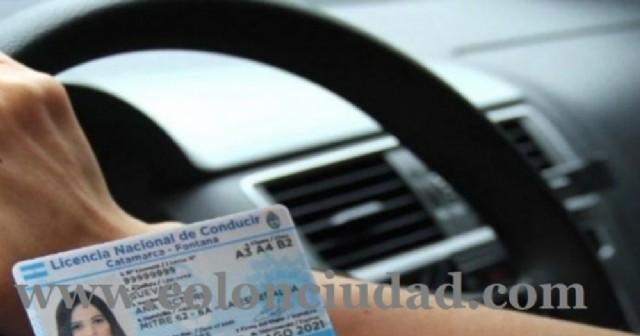 Prórrogas en los vencimientos de licencias de conducir