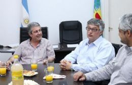 El ministro de Trabajo bonaerense visitó Pergamino