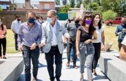 Katopodis y Agustín Simone recorrieron el distrito y anunciaron obras