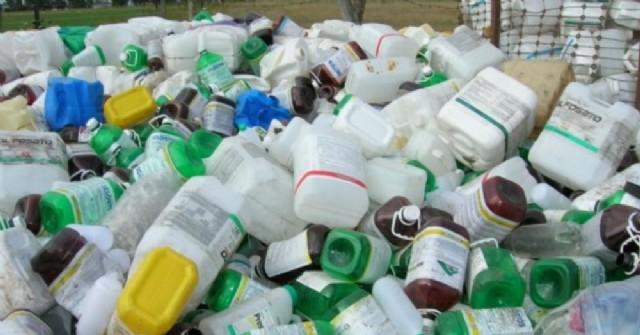 Carga itinerante de envases vacíos de fitosanitarios