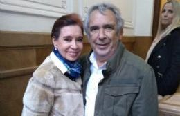 Cristina Fernández de Kirchner y Ricardo Casi.