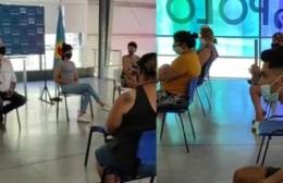 Se realizó en el Polo Cultural un encuentro con quiénes participarán del operativo vacunatorio