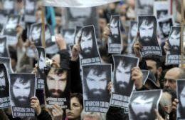 Manifestación por Santiago Maldonado en el Patio del Artista