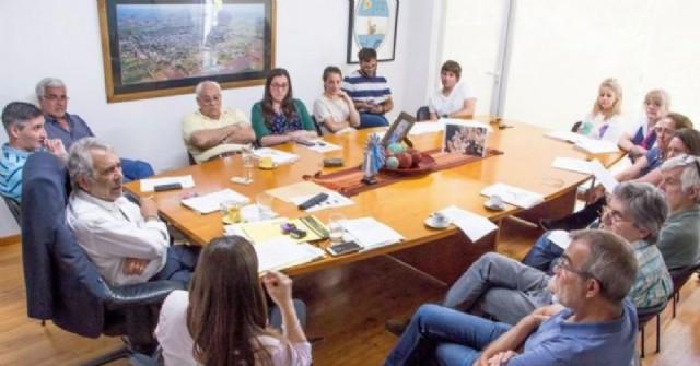 Productiva reunión por la Galería Colón de calle 47
