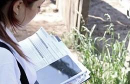 Exitoso operativo de censo en Barrio Textil