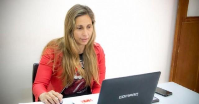 Colón estuvo presente en una nueva charla interregional sobre género