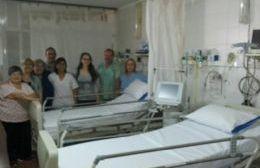 La Cooperadora del Hospital entregó dos camas eléctricas de última tecnología