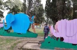 La Municipalidad reparó el sector de Pibelandia