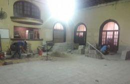 Remodelan la conserjería de Club Alianza