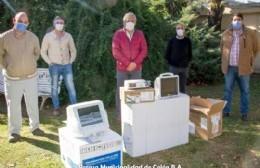 Ingresó nueva aparatología para el Hospital Municipal
