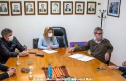 La Municipalidad mantuvo una reunión con la agencia de discapacidad