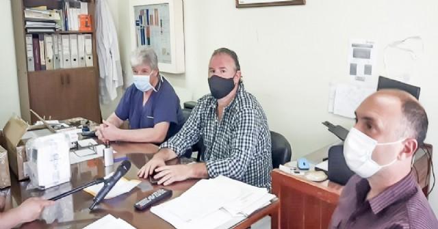 En la mañana de este miércoles, en el Hospital Municipal, se produjo la entrega de bombas de infusión por parte de la Región Sanitaria IV.