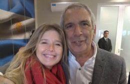 Cristina Álvarez Rodríguez y Ricardo Casi.