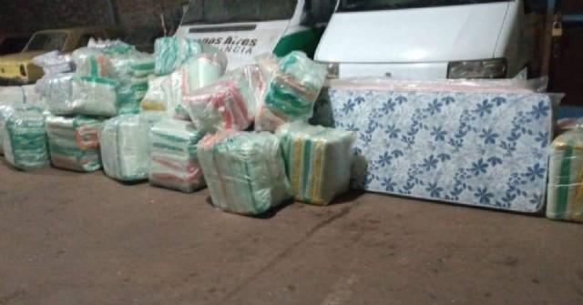 Distribuyen la ayuda de Provincia a los afectados por la granizada
